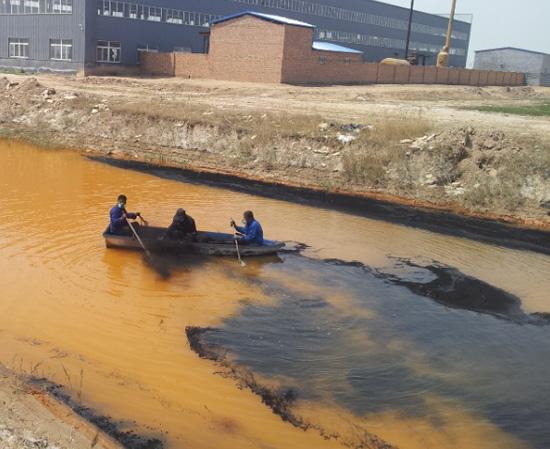 南皮乌马营工业园区污染沟渠治理